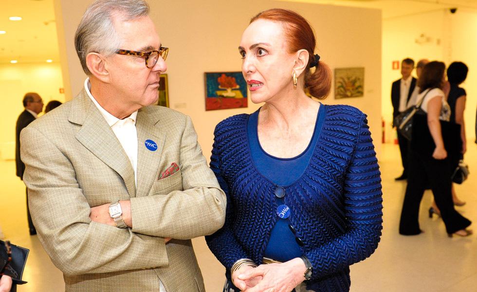 Cesar Giobbi e Roberta Matarazzo